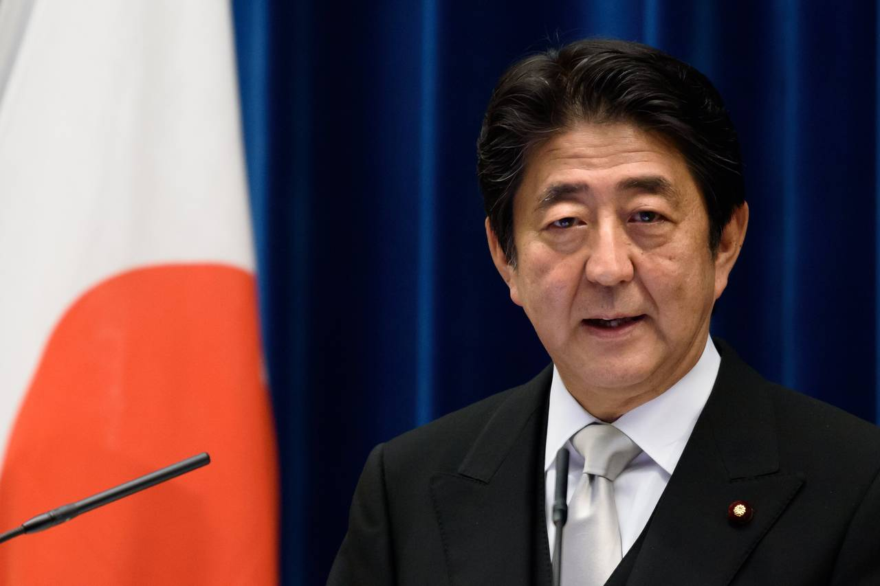 Shinzo Abe, Japan's prime minister, shown at his official residence in Tokyo in August, has been a strong backer of the TPP trade deal. PHOTO: AKIO KON/BLOOMBERG NEWS